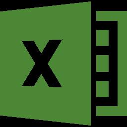 エクセルのロゴ風アイコン素材